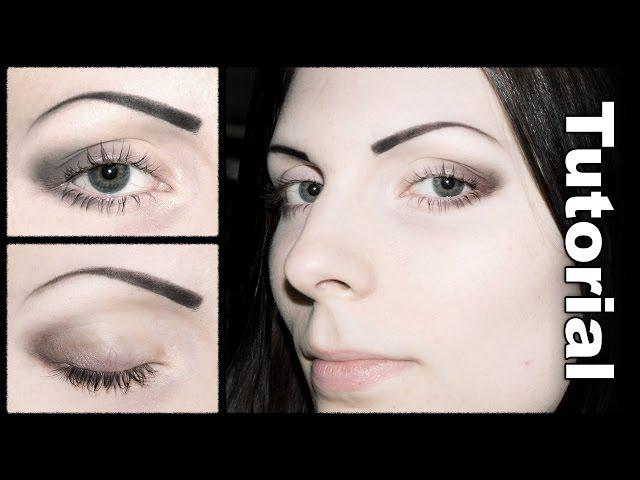 Simple Soft Dark Eye Makeup Tutorial