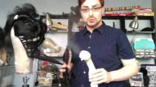 Tutorial - Steaming Synthetic Wigs For Drag, Theater, Opera And Cosplay