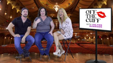 """""""Off The Cuff With JoLynn Harrison"""" Featuring Jeff Ivey and Laurel Gallion"""