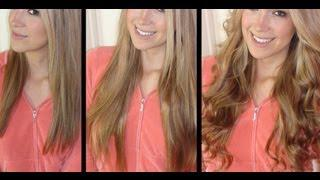 NEW Hair Extensions + Easy Victoria's Secret Curls