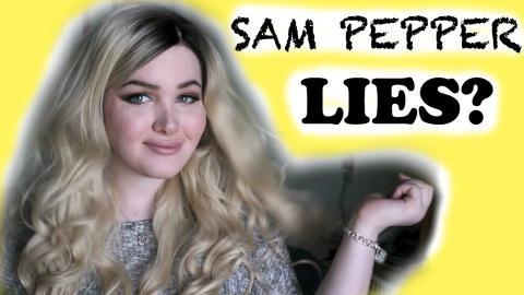 SAM PEPPER DRAMA CONTINUES