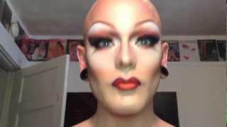 Transformation Drag MakeUp Tutorial MAC 2 - Disco Dollie