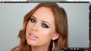 Simple&Easy Rock Chick Black Smoky Eye Makeup Tutorial
