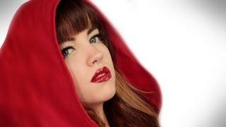 Red Riding Hood For Halloween: Makeup Tutorial Video By Robert Jones