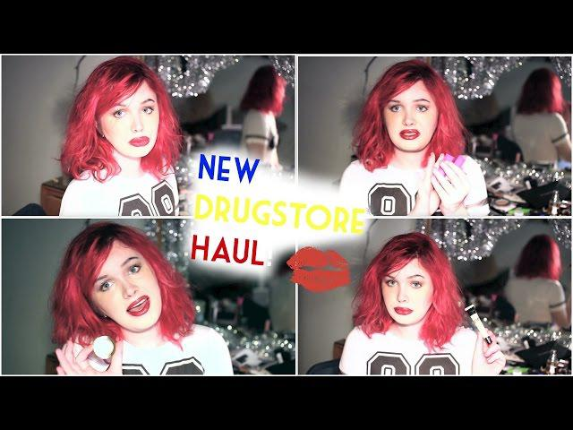Makeup Haul: New (Limited Edition) Drugstore Makeup! March 2015| Raiden Quinn
