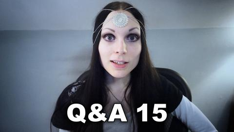 Q&A 15 + Weird Messages (November, 2015 - December, 2015)