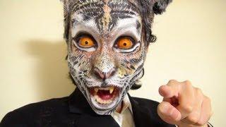 タイガーメイク方法(化粧)Tiger Makeup Tutorial