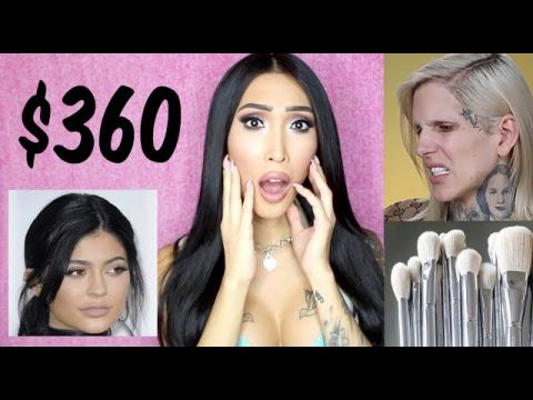 $360 KYLIE BRUSHES | JEFFREE STAR | MANNY MUA DRAMA!