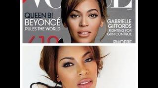 Beyonce Vogue Makeup Tutorial