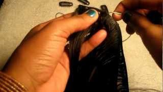 HOW TO: Make Clip-in Hair Extensions
