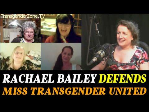 Transgender Pageant - Rachael Bailey Defends Miss Transgender United (UK).