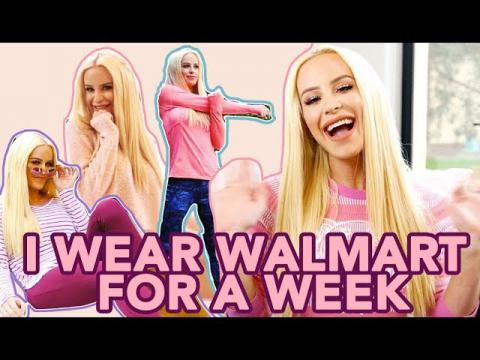 I Wear Walmart For A Week | Gigi