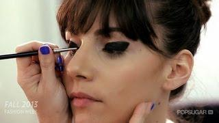 Libertine's Retro Eye Makeup Look Tutorial | New York Fashion Week | Beauty How To