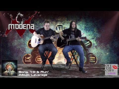 """Hit & Run"" - Modena - Live & Unplugged on Off The Cuff with JoLynn Harrison"
