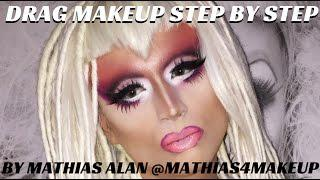Flawless Drag Queen Makeup Tutorial | Queen Magazine Photoshoot #FIERCEFACEFRIDAY - Mathias4makeup
