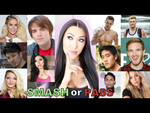 SMASH or PASS!!! (PewDiePie, Gigi Gorgeous, Jenna Marbles, NigaHiga & More!)