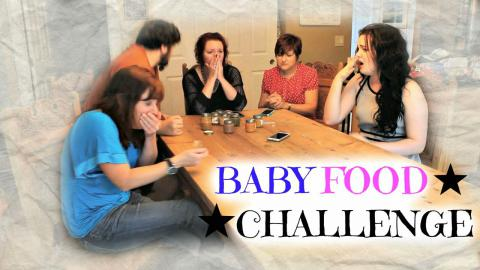 BABY FOOD CHALLENGE Ft. My Family!! (Warning: Lots go Gagging)| Raiden Quinn