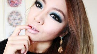 Intense Smokey Blue Eyes - Party Makeup