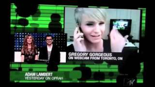 Gregory Gorgeous On MTV's The After Show