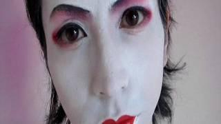 芸者メイク方法(化粧) Man To Geisha Makeup Tutorial
