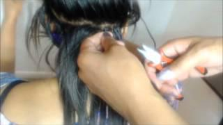 How To Apply Micro Bead Hair Extensions Step -by- Step.wmv