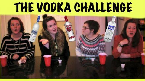 THE VODKA CHALLENGE!!