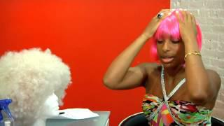 How To Wear A Pink Wig : Wig Styling&Care