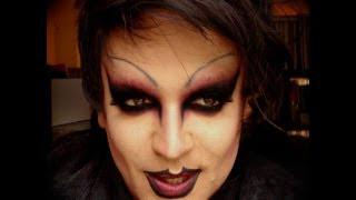 Halloween Dark Gothic Makeup Drag Queen - Marilyn Manson Style